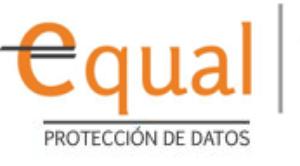 logo equal protección de datos